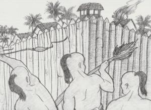 The First Battle. September 11, 1671. Chamorro Spanish War
