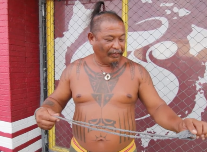 Chamorro Slinging Tutorial Capitol F (Acho Atupak)
